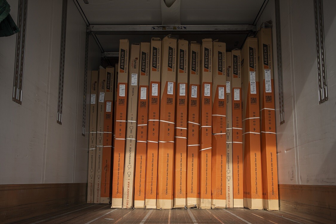 Склад дверей ABWEHR