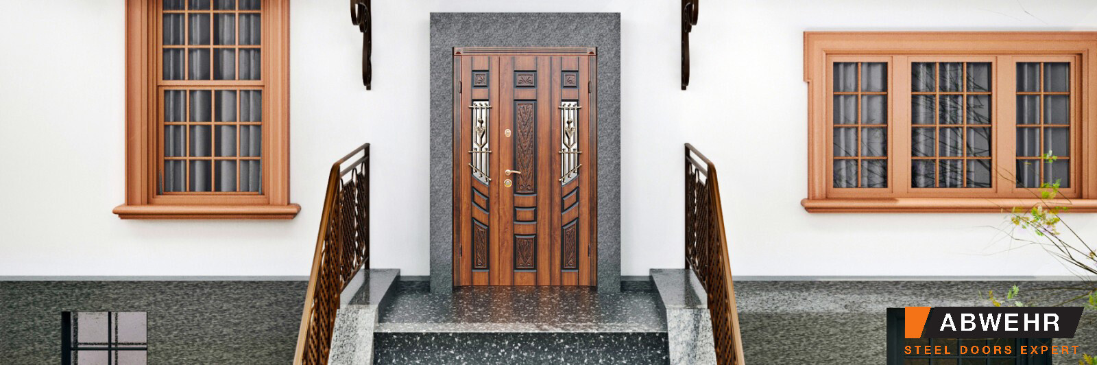 Abwehr Doors Agnia photo in the exterior