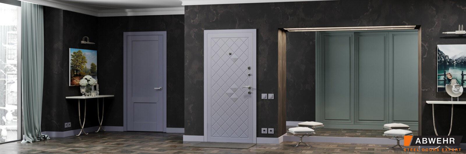 Двери Абвер Селина фото в интерьере