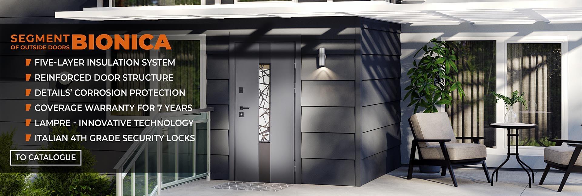 Street doors segment - BIONICA